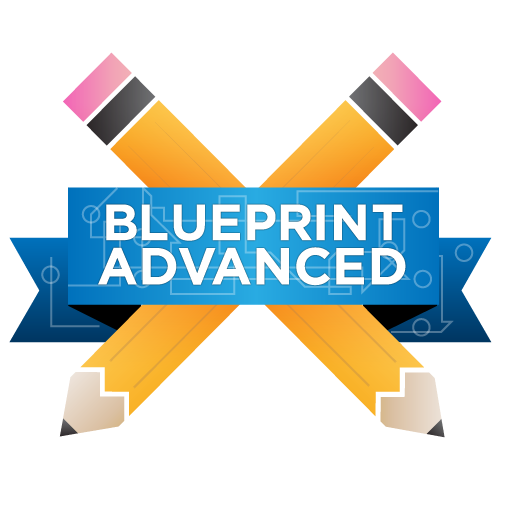 Blueprint Advanced badge