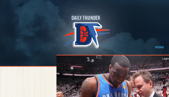 Daily Thunder detail header
